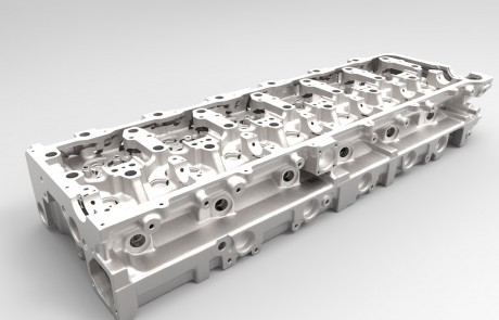 cylinder head - Spare Parts